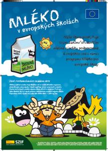 Projekt: Mléko v evropských školách